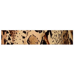 Animal Fabric Patterns Flano Scarf (Small)