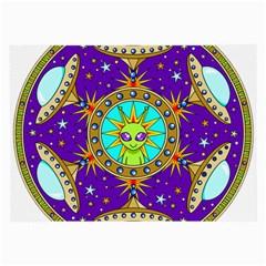 Alien Mandala Large Glasses Cloth (2-Side)