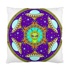 Alien Mandala Standard Cushion Case (two Sides)