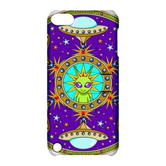 Alien Mandala Apple Ipod Touch 5 Hardshell Case With Stand