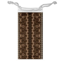 African Style Vector Pattern Jewelry Bag