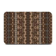 African Style Vector Pattern Plate Mats
