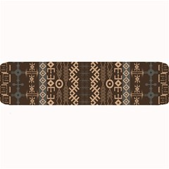 African Style Vector Pattern Large Bar Mats