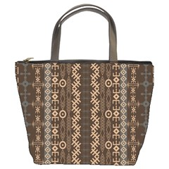 African Style Vector Pattern Bucket Bags