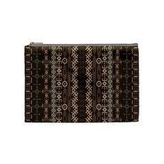 African Style Vector Pattern Cosmetic Bag (medium)