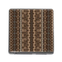 African Style Vector Pattern Memory Card Reader (square)
