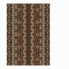African Style Vector Pattern Small Garden Flag (two Sides)
