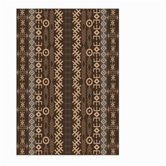 African Style Vector Pattern Large Garden Flag (two Sides)