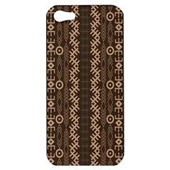 African Style Vector Pattern Apple iPhone 5 Hardshell Case
