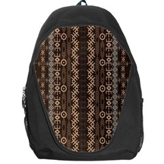 African Style Vector Pattern Backpack Bag