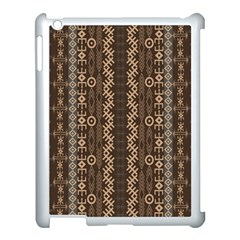 African Style Vector Pattern Apple Ipad 3/4 Case (white)