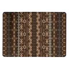 African Style Vector Pattern Samsung Galaxy Tab 10.1  P7500 Flip Case