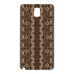 African Style Vector Pattern Samsung Galaxy Note 3 N9005 Hardshell Back Case