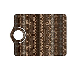 African Style Vector Pattern Kindle Fire HD (2013) Flip 360 Case