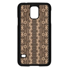 African Style Vector Pattern Samsung Galaxy S5 Case (black)