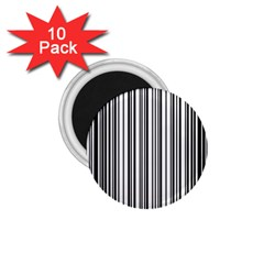 Barcode Pattern 1.75  Magnets (10 pack)