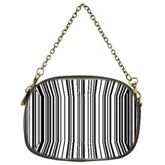Barcode Pattern Chain Purses (One Side)