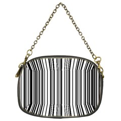 Barcode Pattern Chain Purses (two Sides)