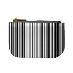 Barcode Pattern Mini Coin Purses