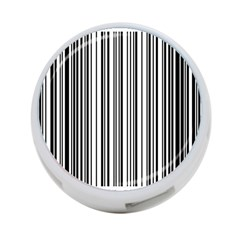 Barcode Pattern 4-Port USB Hub (Two Sides)