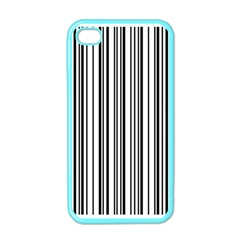 Barcode Pattern Apple iPhone 4 Case (Color)