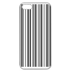 Barcode Pattern Apple Seamless iPhone 5 Case (Clear)