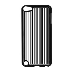 Barcode Pattern Apple Ipod Touch 5 Case (black)