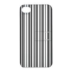 Barcode Pattern Apple iPhone 4/4S Hardshell Case with Stand