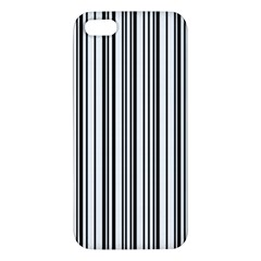 Barcode Pattern Apple Iphone 5 Premium Hardshell Case