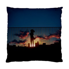 Art Sunset Anime Afternoon Standard Cushion Case (One Side)