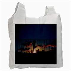 Art Sunset Anime Afternoon Recycle Bag (Two Side)