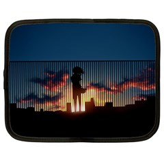 Art Sunset Anime Afternoon Netbook Case (XXL)