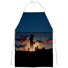 Art Sunset Anime Afternoon Full Print Aprons