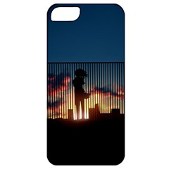 Art Sunset Anime Afternoon Apple iPhone 5 Classic Hardshell Case