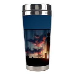 Art Sunset Anime Afternoon Stainless Steel Travel Tumblers