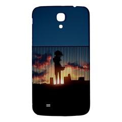 Art Sunset Anime Afternoon Samsung Galaxy Mega I9200 Hardshell Back Case