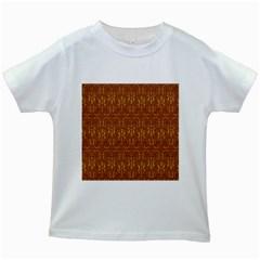Art Abstract Pattern Kids White T-Shirts