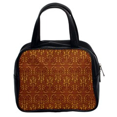 Art Abstract Pattern Classic Handbags (2 Sides)