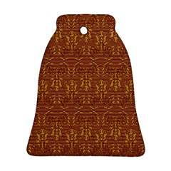 Art Abstract Pattern Bell Ornament (Two Sides)