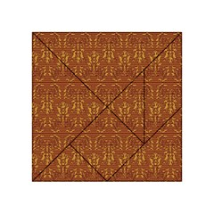 Art Abstract Pattern Acrylic Tangram Puzzle (4  X 4 )