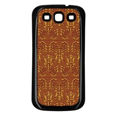 Art Abstract Pattern Samsung Galaxy S3 Back Case (Black)