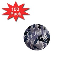 Army Camo Pattern 1  Mini Magnets (100 pack)