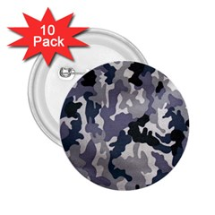 Army Camo Pattern 2.25  Buttons (10 pack)