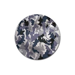 Army Camo Pattern Magnet 3  (Round)