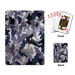 Army Camo Pattern Playing Card