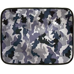 Army Camo Pattern Double Sided Fleece Blanket (Mini)