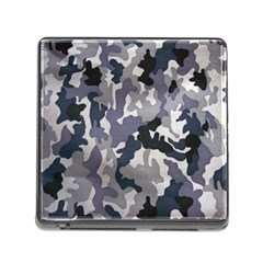 Army Camo Pattern Memory Card Reader (square)