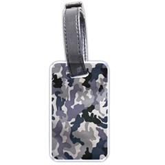 Army Camo Pattern Luggage Tags (Two Sides)