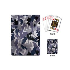 Army Camo Pattern Playing Cards (Mini)