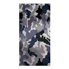 Army Camo Pattern Shower Curtain 36  x 72  (Stall)